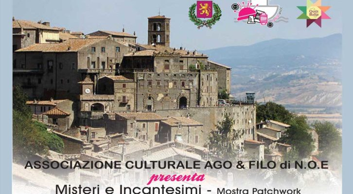 """""""Patchwork a Bomarzo"""": mostra nazionale di quilt"""