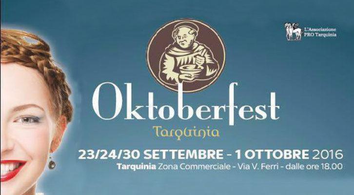 Tarquinia Oktoberfest: due weekend di birra e musica