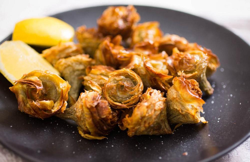 La ricetta carciofi alla giudia che bont tusciaup for Cucina giudaico romanesca