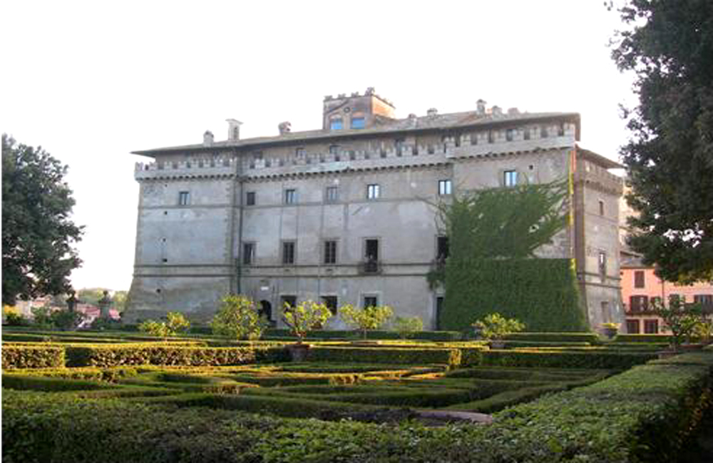 Castello ruspoli e il giardino all italiana una giornata con donna giada tusciaup - Il giardino di giada ...