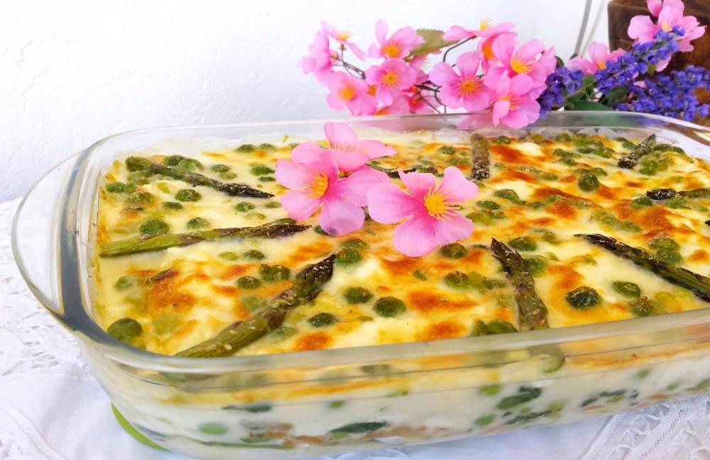 Lasagne pasquali con verdure e ortaggi freschi di stagione for Decorazioni con verdure e ortaggi