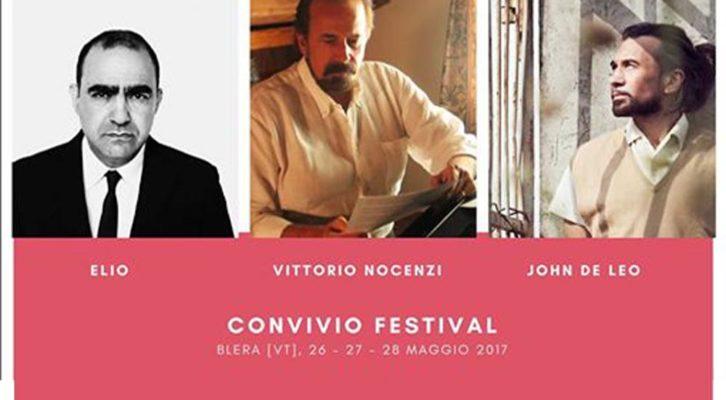 Convivio Festival /27 maggio:arriva Vittorio Nocenzi del Mutuo Soccorso