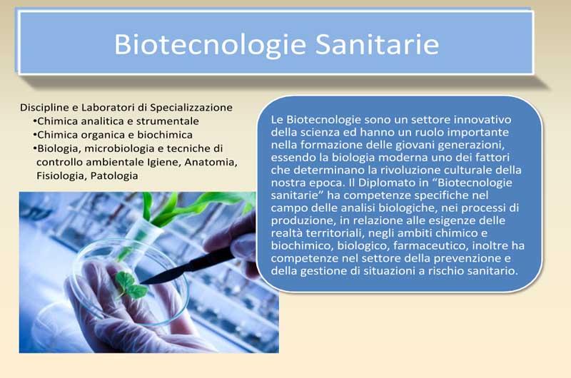 Risultati immagini per indirizzo biotecnologico
