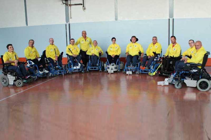 "Campionato nazionale Powerchair hockey Serie A1 Girone ""A"": Vitersport corsara a Bologna - TusciaUp"