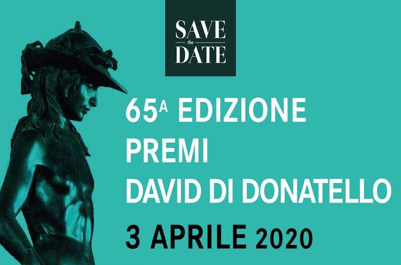 I candidati al Premio David di Donatello 2020 | TusciaUp